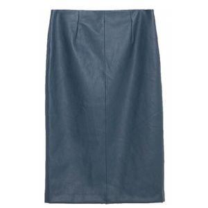 Zara faux pencil skirt